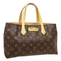LOUIS VUITTON WILSHIRE PM HAND TOTE BAG MI4170 PURSE MONOGRAM M45643 34508