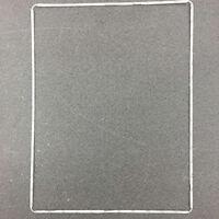AU_ Tablet Digitizer LCD Screen Bezel Plastic Middle Frame for iPad 2 3 4 Grace