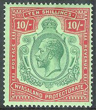 Nyasaland/British Cent. Africa Single Stamps