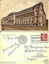 lz 48 1933 ROMA Ministero della Marina - viagg FP - Ed. Richter Roma