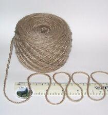 100g balls Light Brown Aran 100% Pure Wool British Breed knitting yarn EFW 329A