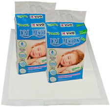 60 Desechables Colchón Hoja incontinencia Protector De Almohadillas Para Bebé Niño formación