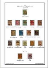 Album de timbres Kouang-Tchéou 1906-1944 à imprimer