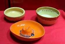 Vintage Pottery Sombrero Hat Bowl , California Pottery Bowl and 1 more