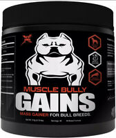 Gains Mass Weight Gainer Whey Protein For Dogs Bull Breeds Pit Bulls Bullies Inc