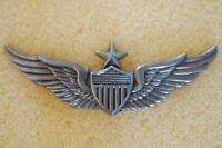 US USA Army Senior Aviator Wings Large Military Hat Lapel Pin