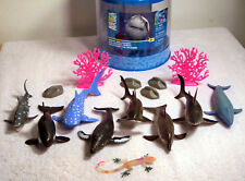 Animal Planet Ocean Collection 15 Pieces, Sharks, Coral & Rocks by Toys'Rus