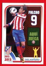 ATLETICO MADRID 2012-2013 Panini - Figurina-Sticker n. 163 - FALCAO -New