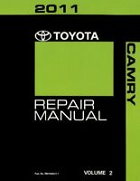 2011 Toyota Camry Shop Service Repair Manual Volume 2 Only