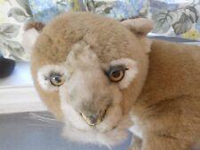VINTAGE 1983 AVANTI AFRICAN LION CUB PLUSH TOY REALISTIC