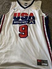 Michael Jordan Nike 1992 Dream Team USA Basketball Jersey Men's Large CD Edition