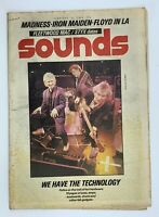 Sounds 23 February 1980 Police Madness Iron Maiden Diamond Head