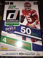 🔥🏈💪🔥🏈💪🔥🏈💪🔥🏈💪🔥2019 Panini Donruss Football Hanger Box Rated Rookies