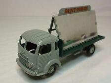 Dinky Toys 33 Simca Cargo Truck - Saint Gobain - Grey + Green 1:43? Very Good