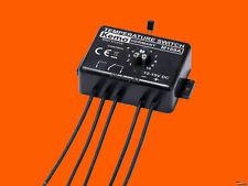 M169/A KEMO THERMO-SWITCH Temperaturschalter TEMPERATUR-SCHALTER THERMOSTAT 12V=