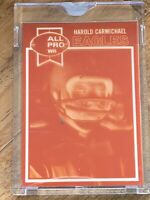 1979 Topps Vault Football Harold Carmichael Negative  COA 1/1 Eagles