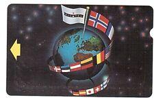 Belgium - Alcatel Bell - World & Flags Verso A