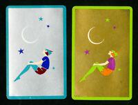Art Deco Peter Pan Playing Cards VF 1932