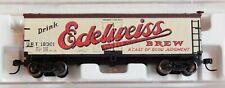 """Atlas N-Scale #41403 40' woodside BILLBOARD CAR """"EDELWEISS BREW"""""""