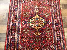 """New listing 3'5""""x5'2 """" Authentic Hand Knotted wool Oriental Malayer Hamedan Foyer area rug"""