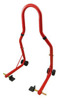 BEQUILLE ARRIERE PADDOCK STAND UNIVERSEL ROUGE DUCATI SBK 749 999 MONSTER 696
