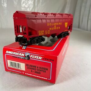 "American Flyer 6-48609 ""DELAWARE & HUDSON"" COVERED HOPPER CAR ""NEW"" in ORIG BOX"
