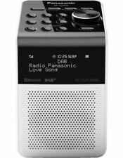 Panasonic RFD20UGNW DAB+ AM/FM Clock Radio - White