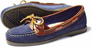 Orca Bay Schooner Ladies Navy Deck Shoes
