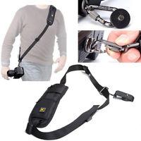 Quick Rapid Shoulder Sling Belt Neck Strap for Camera SLR/DSLR Nikon Canon Hot