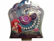 New The Little Mermaid Musical Pearl Shell Necklace Disney Free Shipping