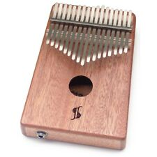 Stagg 17-Key Professional Electro-Acoustic Mahogany Box Kalimba w/ Steel Tines