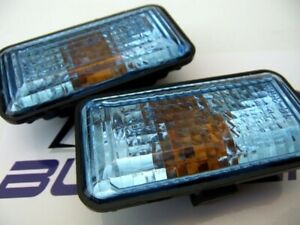 VW GOLF MK2 RALLYE MK3 JETTA PASSAT SEAT IBIZA BLUE FENDER SIDE MARKER LIGHTS