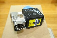 "Asco Sirai 1/8"" Stainless Steel Direct Acting Solenoid Valve 120v AC B12A DIN"