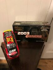 2003 Team Caliber Owners MB2 Diecast #01 Joe Nemechek Autographed Car 1:24