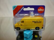 SIKU 1085 MERCEDES BENZ SPRINTER - SCHNELLE POST - EMS - EXCELLENT IN BLISTER