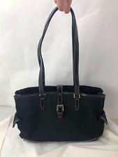 Etienne Aigner Shopper Tote Briefcase Handbag Black Vintage