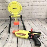 NERF Rival Gun MERCURY XIX-500 Blaster Rival W/Target 2018 Hasbro Neon Yellow