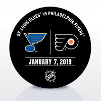 St. Louis Blues Vs. Flyers Used Warm Up Puck 1/7/19  Binnington First Start & SO