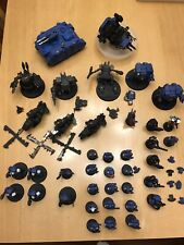 Warhammer space marines 40k army Tanks Helicopter 39 Items Plastic Painted