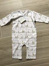 Kissy Kissy Unisex Noahs Print Sleepsuit Playsuit Babygro 9 mths BNWT RRP £31