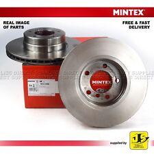 2X MINTEX DISC BRAKES FRONT FOR BMW 5 E60 (TOURING) E61 525 520 523 i 525 520 d