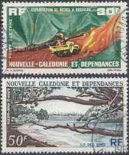 NOUVELLE CALÉDONIE PA N°74/75 - OBLITÉRATION CACHET A DATE