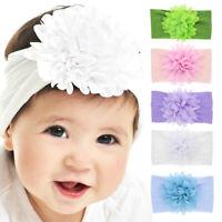 chiffon elastische turban baby - haarband blume stirnband bowknot kopf wickelt