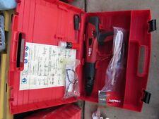 HILTI DX 460 F8  powder actuated nail gun kit  NEW    (853)