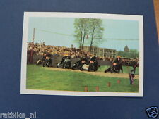 VDH3-182 START SIDECAR SPEEDWAY/GRASBAAN  PICTURE STAMP ALBUM CARD,ALBUM PLAATJE