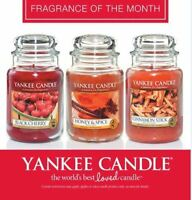 NEW Yankee Candles - Medium Jars Scented Candles Fragrance of the Month