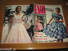 EVA=1959/32=RIVISTA MAGAZINE MODA DONNA WOMAN CUCINA ARREDAMENTO=