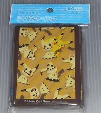 Japanese Pokemon Center Exclusive Mimikyu & Pikachu Card Sleeves (64 pcs)