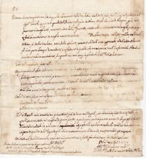 1658 BOLOGNA ITALY PRE-STAMP LETTER TO PARMA - EMBOSSED PAPER SEAL - ITALIE