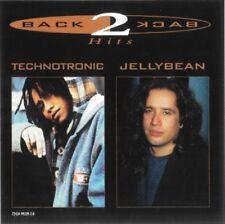 New: TECHNOTRONIC/JELLYBEAN - Back 2 Back Hits (Best of/Greatest Hits) CD